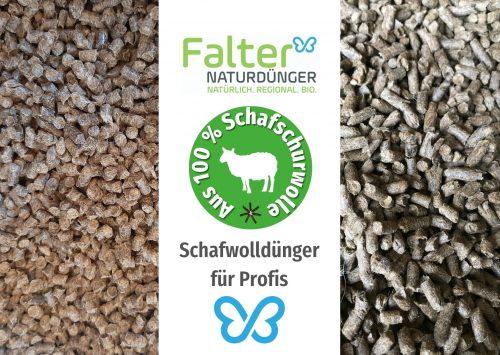 Schafwolldünger, Schafwollgranulat: Für Gewächshäuser, Gärtnereien, Erdenwerke und für den Gemüsebau